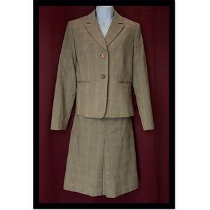 Women's Brown Suit